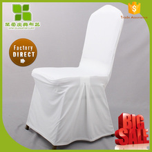China manufacturer pleated chair cover for wedding
