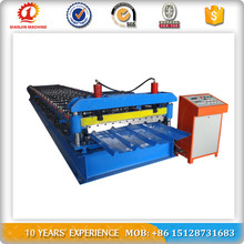 Color Steel Roof Roll Form Machinery With CNC System