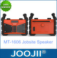 Made in China IPX54 waterproof bluetooth portable radio