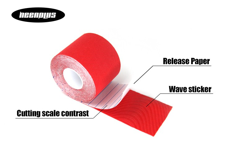Hot selling High Quality 2016 Waterproof Athletic Kinesiology Tape Sports Tape