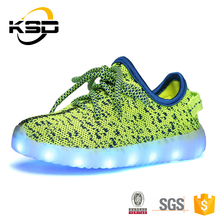 Flash Led Sneakers Wholesale Rechargeable Led Shoes Kids