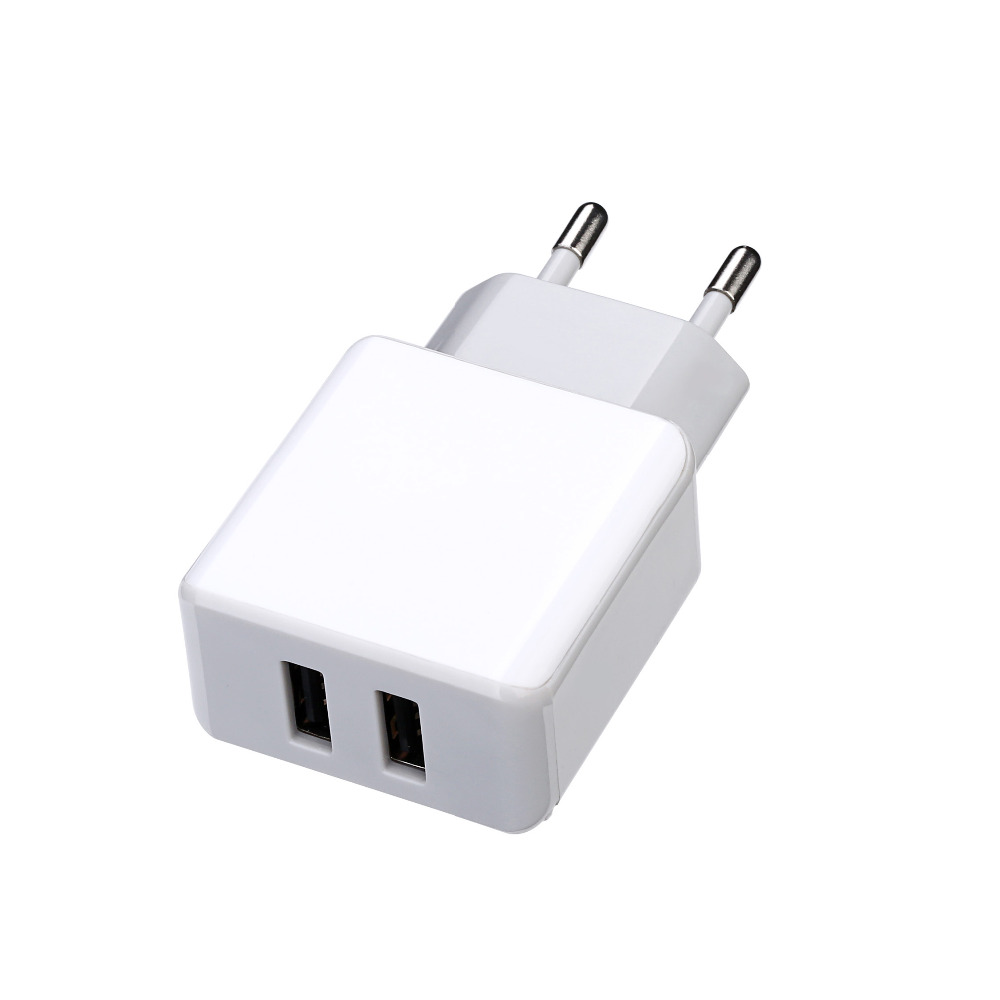 Factory Price 5V 2A Eu Plug Dual USB Wall Charger