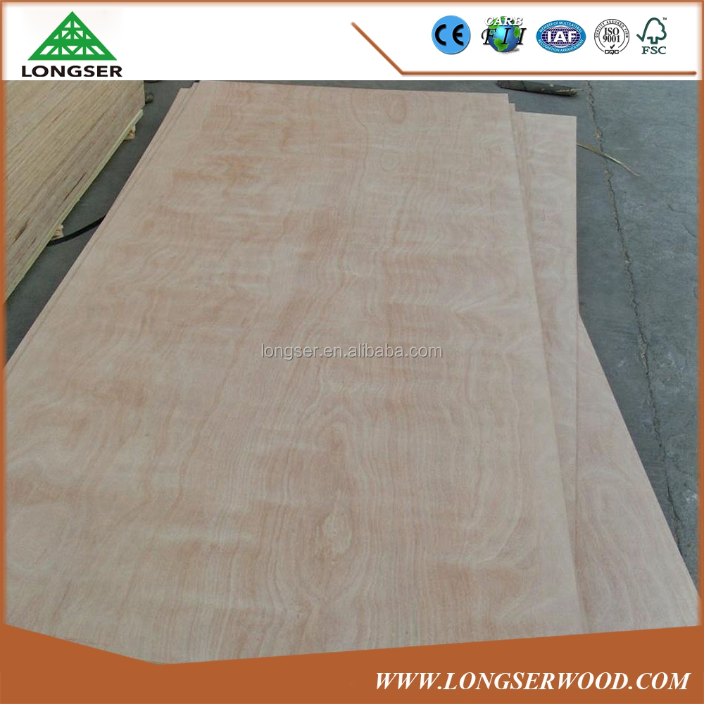 Cheap Laminated Okoume Door Skin Plywood Price