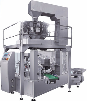 Automatic Premade Bag Nuts Fill Seal Packaging Machine