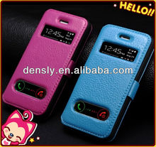 "High-end for iphone 5 case for apple iphone5"" leather case"