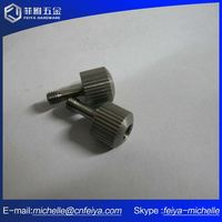 High Quality Captive Screws In Medical Instrument Aluminum Cap Equipment