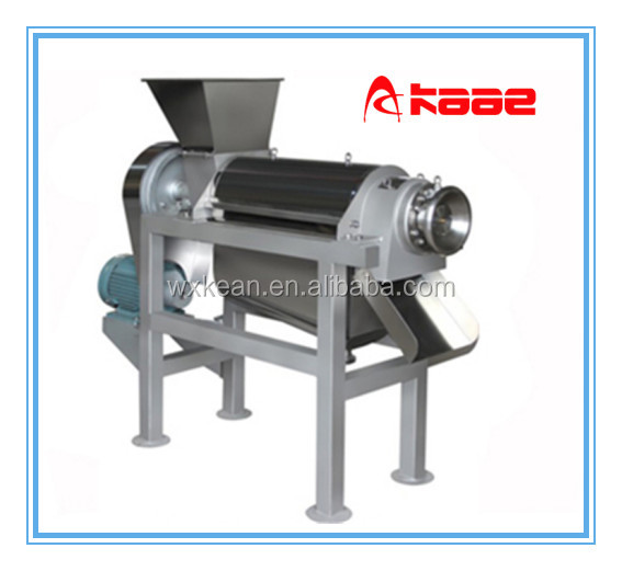 industrial screw type fruit cold press juicer machine
