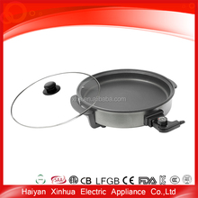 Aluminum competitive price China supplies electric pizza cooking pan