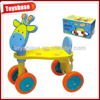 4CH wooden tractor toy