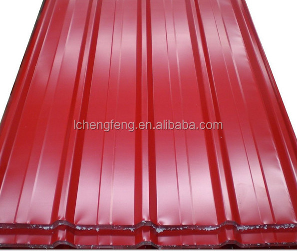 color coated steel tile / building material /roofing price