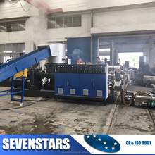 Plastic pelletizing machine Plastic Pellets Making Machine for PE PP Film Pelletizing Recycling Plant