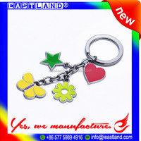 Cheap Promotional Custom Made Metal Keychains