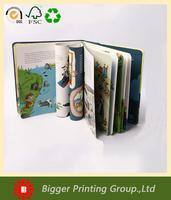 custom childrens board books/mini square kids book / fabric Children quiet Book printing