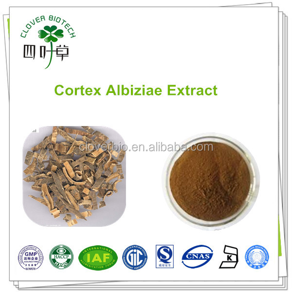 10:1 natural Cortex Albiziae extract Silktree Albizia Bark Extract