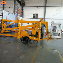 Articulating truck mounted boom lift