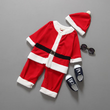 S30482W Korean children clothing for chrismas outfits children new year brand clothing