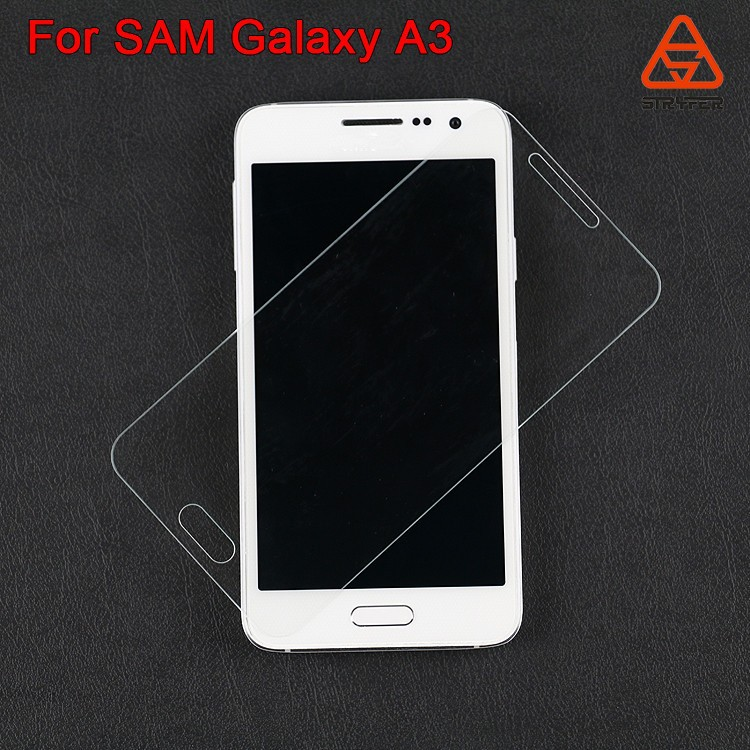 For iphone 6S China wholesale color tempered glass screen protector For SAM Galaxy A3 for iphone 6S plus