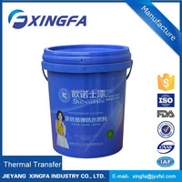 recycle clear plastic bucket 18 litres food grade used plastic barrels