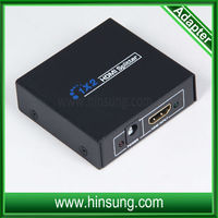 Hdmi splitter AM to AM hdmi switch box 1 in 2 out