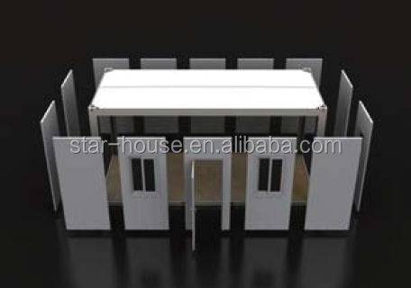 prefabricated container house flat pack container house modular luxury container house