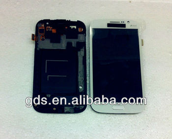 lcd digitizer touch screen assembly with frame for samsung Galaxy Grand Duos i9082 i9080