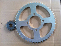 RXK sprocket 428- 50T/12T motorcycle sprocket for indonesia