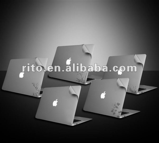 "Copy Aluminum Color Laptop Body Skin Cover Protector for New MacBook Pro 15.4"" 15"",oem Welcome"