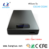 USB 3.1 HDD Enclosure 2.5 Inch HDD/SSD External Case