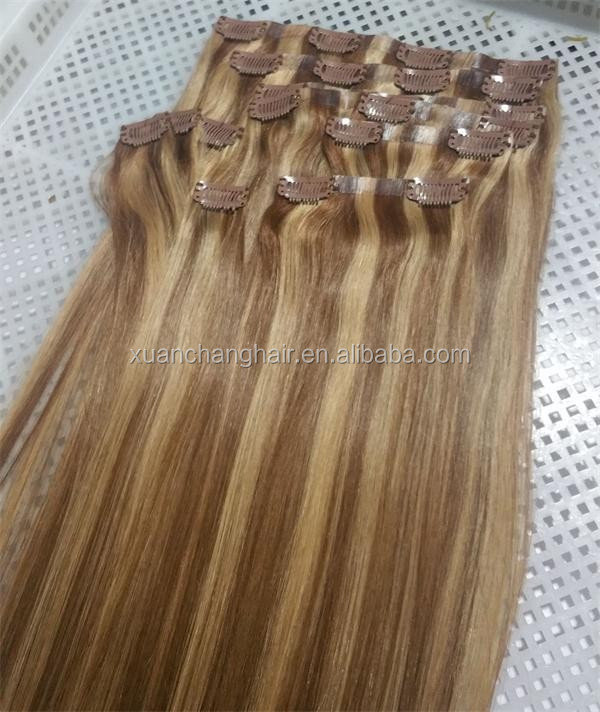 P Color Hair Extension In Tape Weft Seamless Clip In Hair Extensions