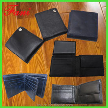 Three design multiple card holder mens leather wallets with coin pocket for boys