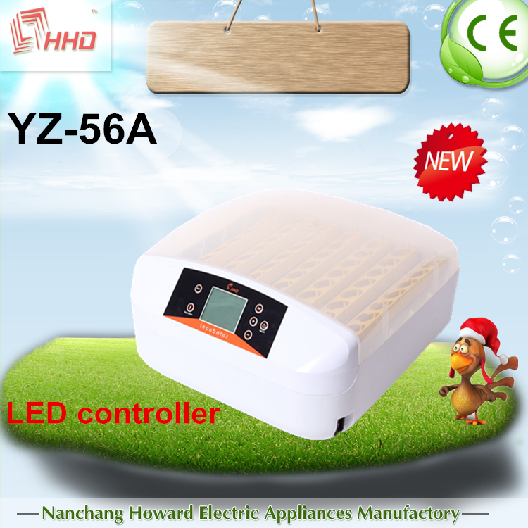 Automatic egg turning cheap price poultry egg incubator hatcher YZ-56A