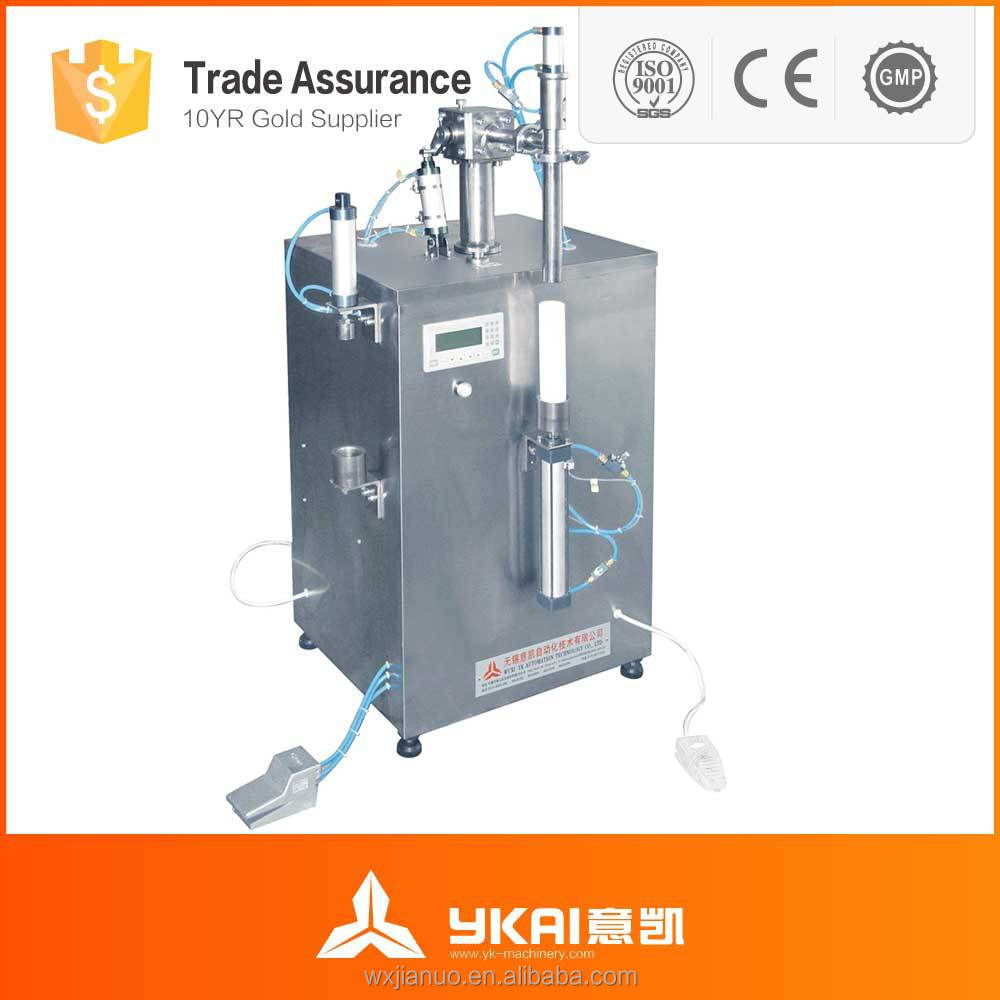 silica gel filling and pressure cap sealing machine/silica gel filling machine/sealant packing machine