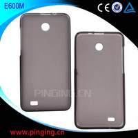 Factory price TPU Case for Hisense E600M, for hisense mobile phone case E600