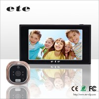 Best Selling Seupport micro-SD photo video motion detection digital door peephole viewer