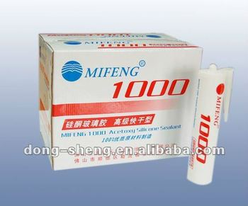 MIFENG 1000 Acetoxy silicone sealant