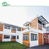 china exporter double floor prefab container hotel houses to Chile