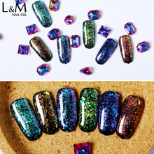 L&M nail manufacture Galaxy shadow nail gel polish private label oem nail polish wholesale