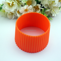 FDA customized design rubber sleeve silicone cup sleeve for wholesale