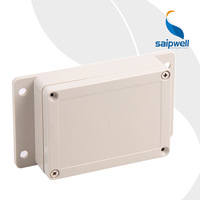 115*85*35mm Wall Mounting Electric Plastic Box with Ears Waterproof Solar Junction Box
