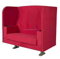 Triumph High-end comfortable cinema VIP chairs love seat / popular theater chairs with armrest wholesale