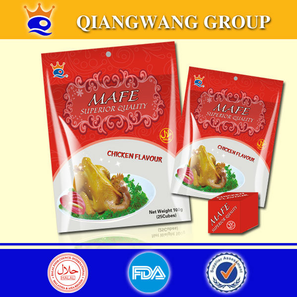 Chicken bouillon cube 4G/PC for stew , soup , sauce