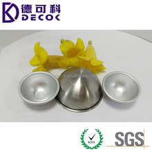 45mm 55mm 65mm 75mm 85mm Metal/Aluminum/ 304 316 316l Stainless Steel Satin Sandblating Hollow Half Ball Hemisphere With Edge