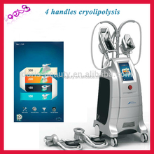 Etg50-4s Cryolipolysis Cool Slimming Machine With Cold And Hot Treatment For Fat Removal