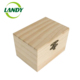 customized logo color FSC solid alder wood box box for blackberry OEM accept