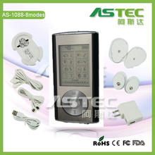 2 channels mini electronic tens machine, electronic massager