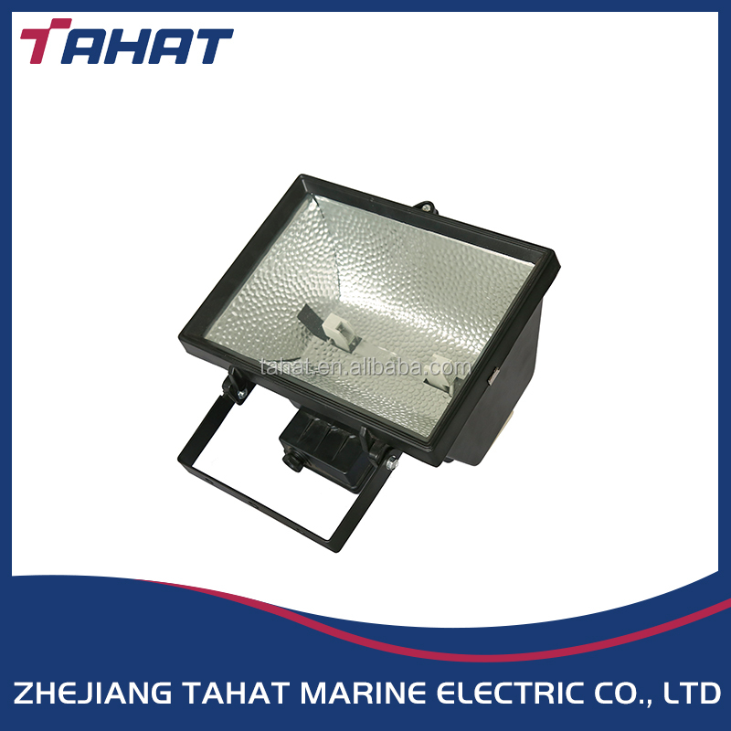 waterproof outdoor 200w 300w 500w marine R7s aluminium tungsten halogen flood light TG17