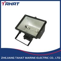 waterproof outdoor 200w 300w 500w marine R7s aluminium tungsten halogen flood light TG17