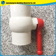 Female / Male Threads Octagonal UPVC PVC Ball Valve