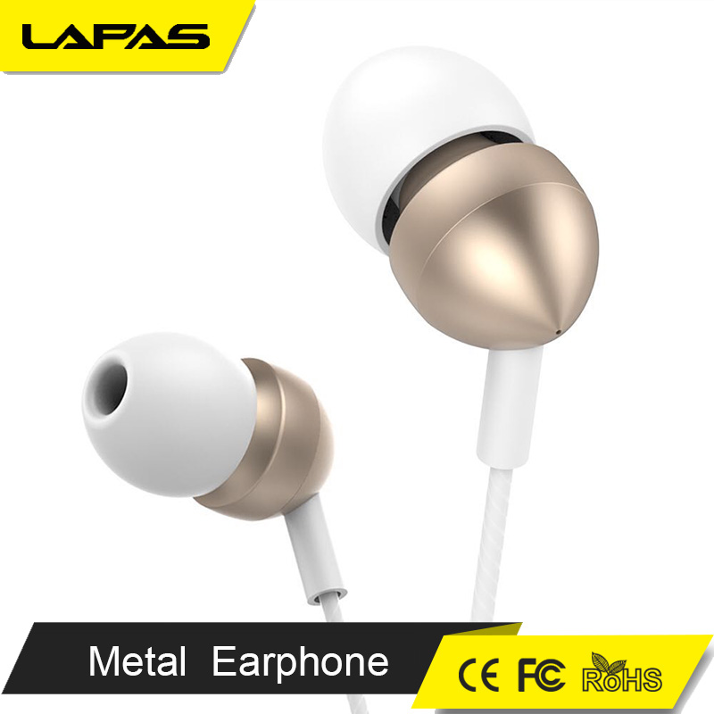 Classics bullet metal earphone for mobile phone