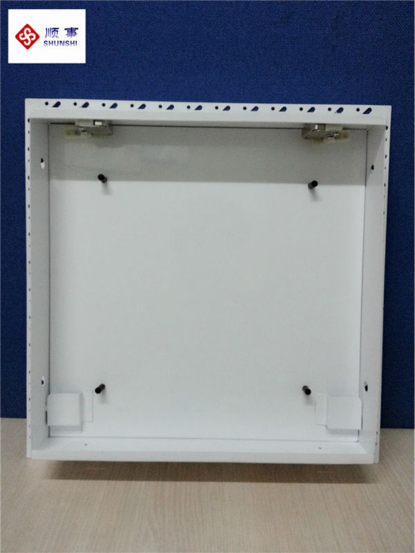 UK standard access panel steel beaded frame with gypsum board and tip latch